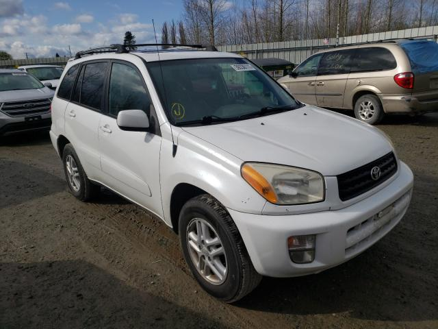 Salvage cars for sale from Copart Arlington, WA: 2003 Toyota Rav4
