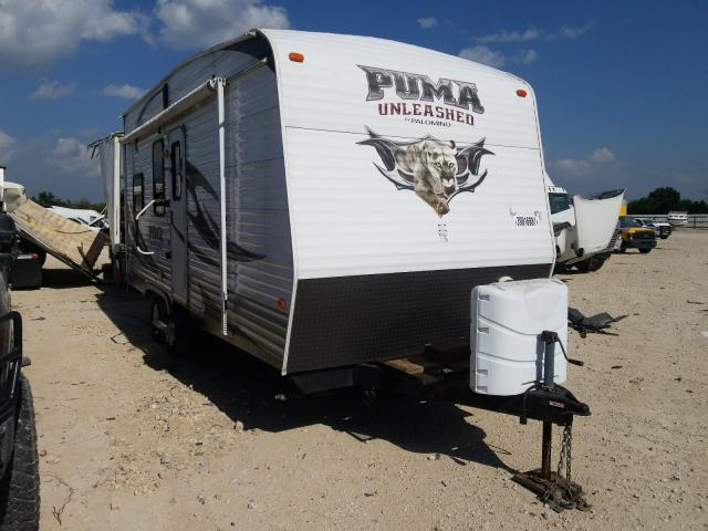 Palomino salvage cars for sale: 2013 Palomino Travel Trailer