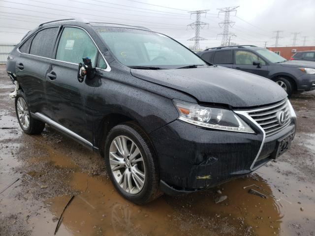 Salvage cars for sale from Copart Elgin, IL: 2013 Lexus RX 350 Base