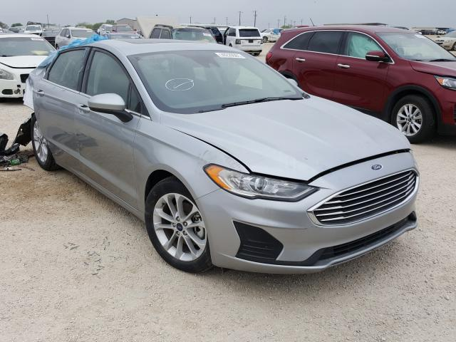 Salvage cars for sale from Copart San Antonio, TX: 2020 Ford Fusion SE