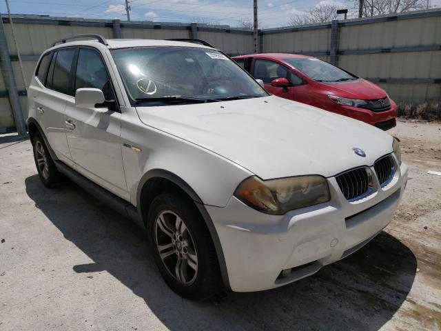 Salvage cars for sale from Copart Homestead, FL: 2006 BMW X3