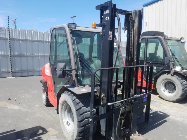 Manitou MSI-30T salvage cars for sale: 2016 Manitou MSI-30T