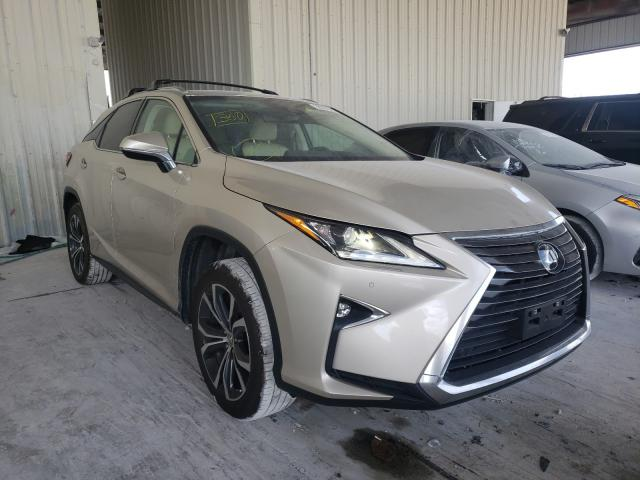 Salvage cars for sale from Copart Homestead, FL: 2017 Lexus RX 350 Base