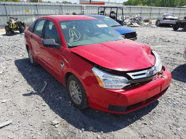 Salvage cars for sale from Copart Montgomery, AL: 2008 Ford Focus SE