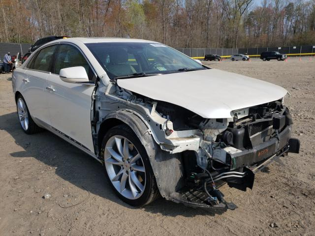 Salvage cars for sale from Copart Waldorf, MD: 2014 Cadillac XTS Vsport