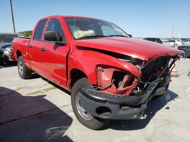 Salvage cars for sale from Copart Grand Prairie, TX: 2008 Dodge RAM 1500 S