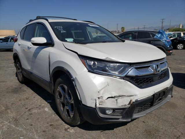 Salvage cars for sale from Copart Colton, CA: 2019 Honda CR-V EX
