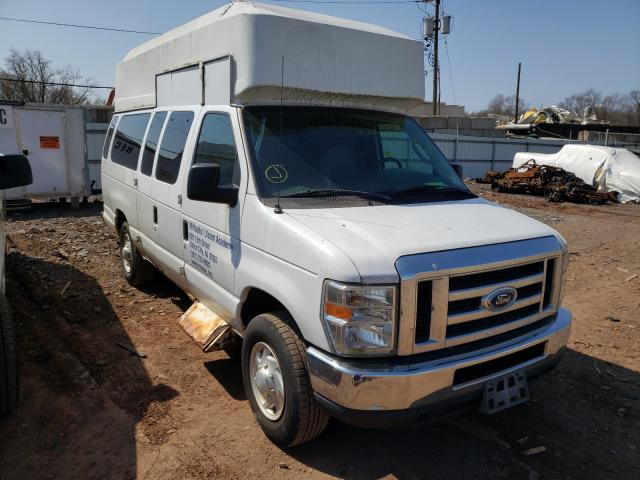 Salvage cars for sale from Copart Hillsborough, NJ: 2008 Ford Econoline