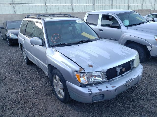 Salvage cars for sale from Copart Albuquerque, NM: 2002 Subaru Forester S