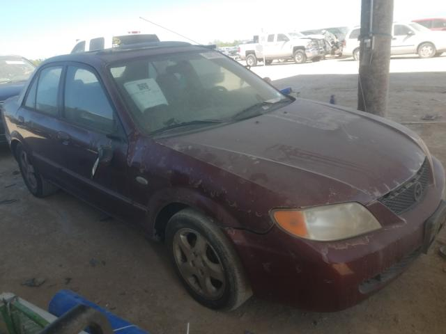 Salvage cars for sale from Copart Temple, TX: 2002 Mazda Protege DX