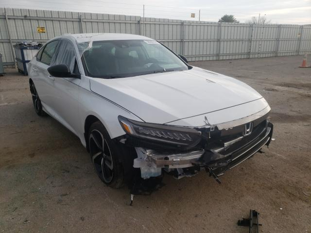 Salvage cars for sale from Copart Lexington, KY: 2021 Honda Accord Sport