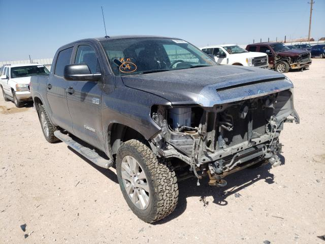 Salvage cars for sale from Copart Andrews, TX: 2018 Toyota Tundra CRE