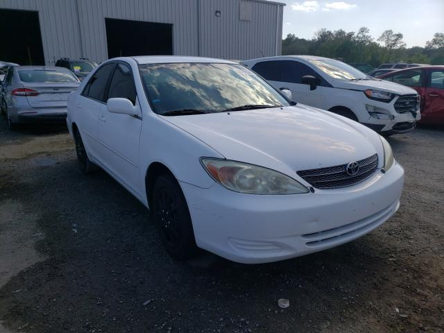 Salvage cars for sale from Copart Jacksonville, FL: 2003 Toyota Camry LE