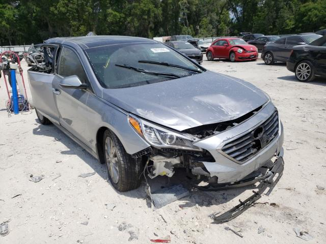 Salvage cars for sale from Copart Ocala, FL: 2015 Hyundai Sonata Sport