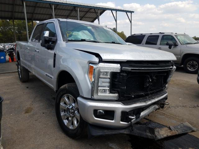 Salvage trucks for sale at Austell, GA auction: 2017 Ford F250 Super