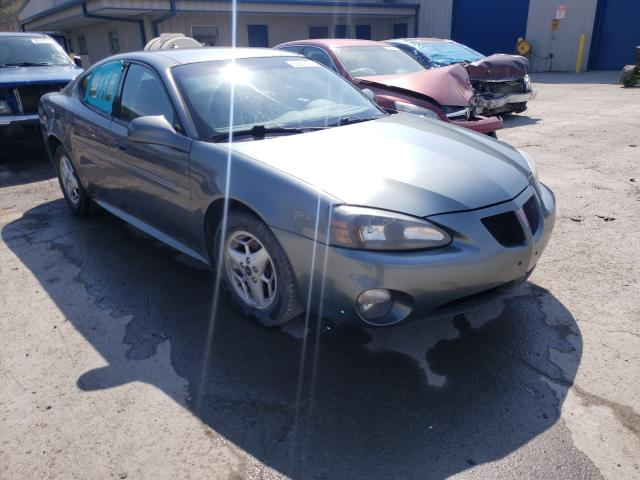 Salvage cars for sale from Copart Ellwood City, PA: 2004 Pontiac Grand Prix