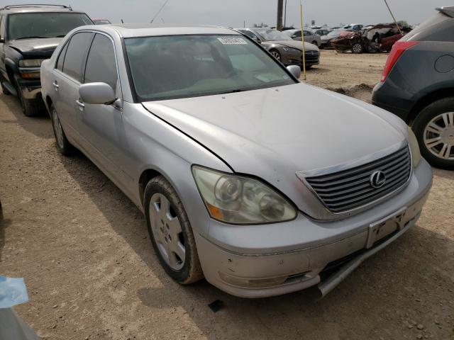 Salvage cars for sale from Copart Temple, TX: 2004 Lexus LS 430