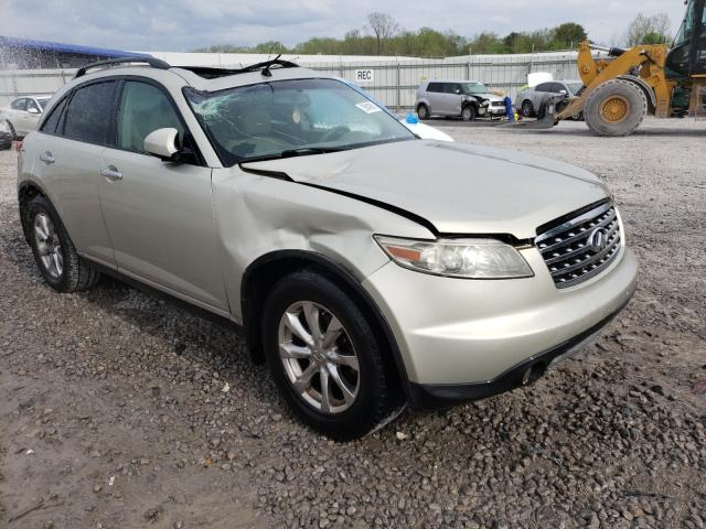 Salvage cars for sale from Copart Hueytown, AL: 2007 Infiniti FX35