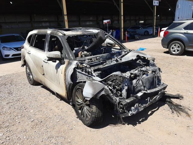 Salvage cars for sale from Copart Phoenix, AZ: 2021 Toyota Highlander