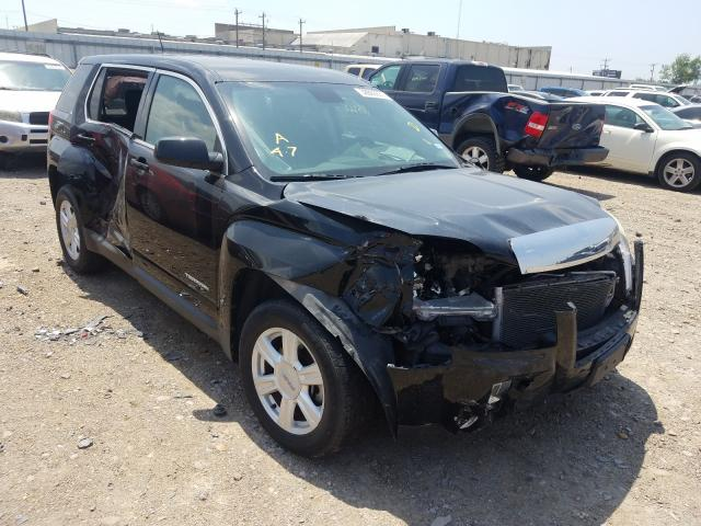 Salvage cars for sale from Copart Mercedes, TX: 2014 GMC Terrain SL