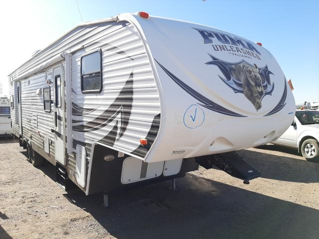 Palomino salvage cars for sale: 2014 Palomino Travel Trailer