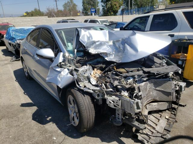 Salvage cars for sale from Copart Colton, CA: 2017 Chevrolet Cruze LS