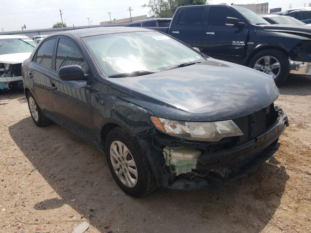 Salvage cars for sale from Copart Mercedes, TX: 2012 KIA Forte LX