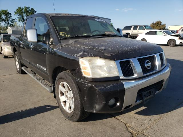 Nissan salvage cars for sale: 2005 Nissan Titan
