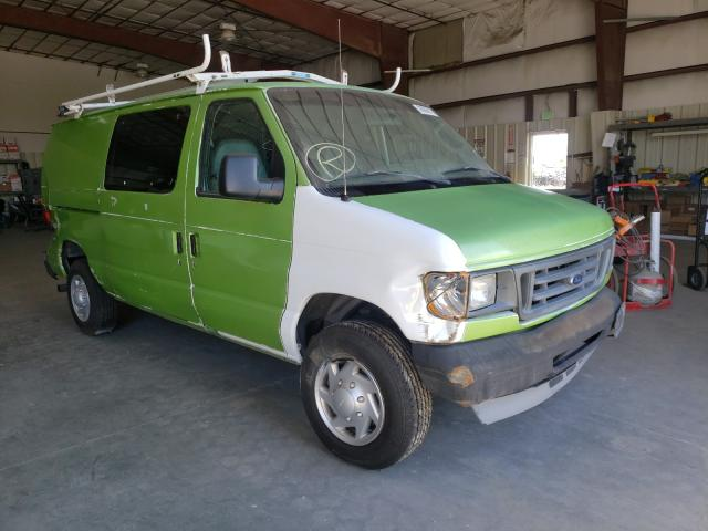 Salvage cars for sale from Copart San Diego, CA: 2005 Ford Econoline