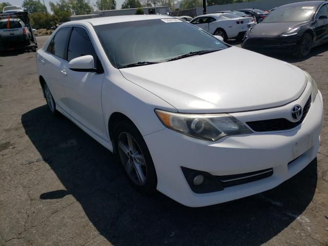 Salvage cars for sale from Copart Colton, CA: 2012 Toyota Camry Base