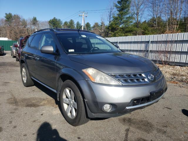 Salvage cars for sale from Copart Exeter, RI: 2006 Nissan Murano SL