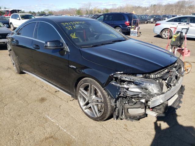 Salvage cars for sale from Copart New Britain, CT: 2014 Mercedes-Benz CLA 45 AMG
