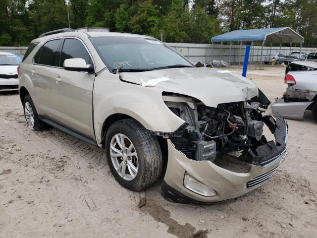 Salvage cars for sale from Copart Midway, FL: 2016 Chevrolet Equinox LT