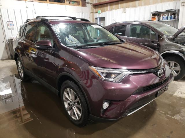 Salvage cars for sale from Copart Anchorage, AK: 2017 Toyota Rav4 Limited