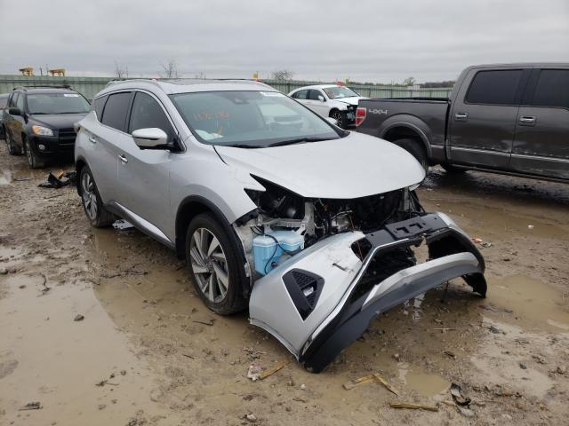 Salvage cars for sale from Copart Kansas City, KS: 2019 Nissan Murano S