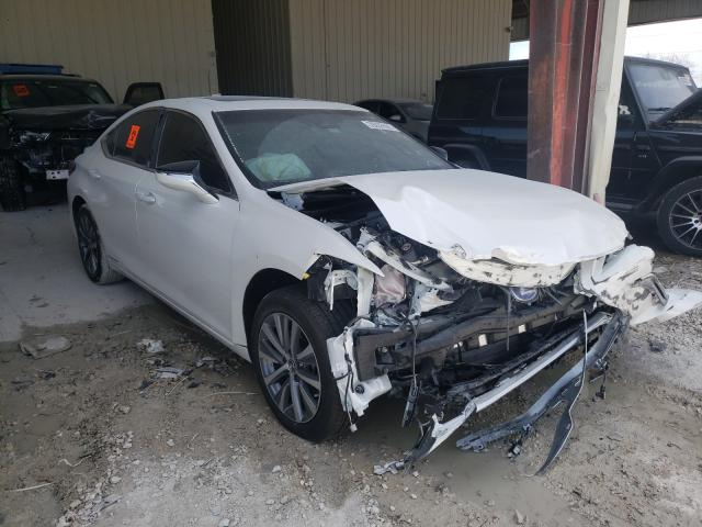 Salvage cars for sale from Copart Homestead, FL: 2021 Lexus ES 300H
