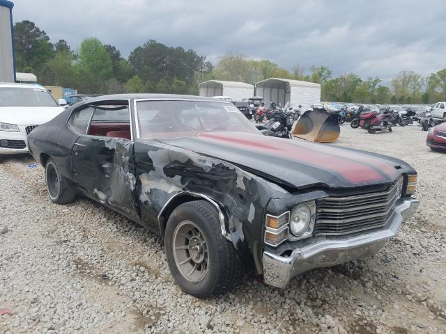 Chevrolet Chevelle salvage cars for sale: 1972 Chevrolet Chevelle