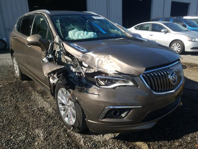 Salvage cars for sale from Copart Jacksonville, FL: 2018 Buick Envision E