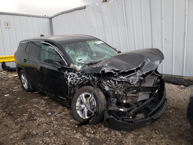 Salvage cars for sale from Copart Cudahy, WI: 2018 GMC Terrain SL