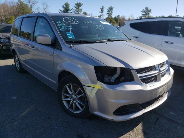 Salvage cars for sale from Copart Exeter, RI: 2015 Dodge Grand Caravan