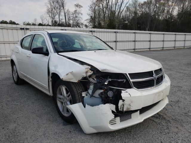 Salvage cars for sale from Copart Fredericksburg, VA: 2008 Dodge Avenger SX