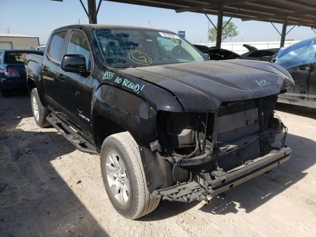 Salvage cars for sale from Copart Temple, TX: 2016 GMC Canyon SLE