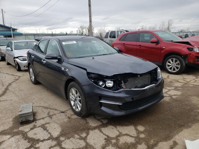 Salvage cars for sale from Copart Pekin, IL: 2017 KIA Optima LX