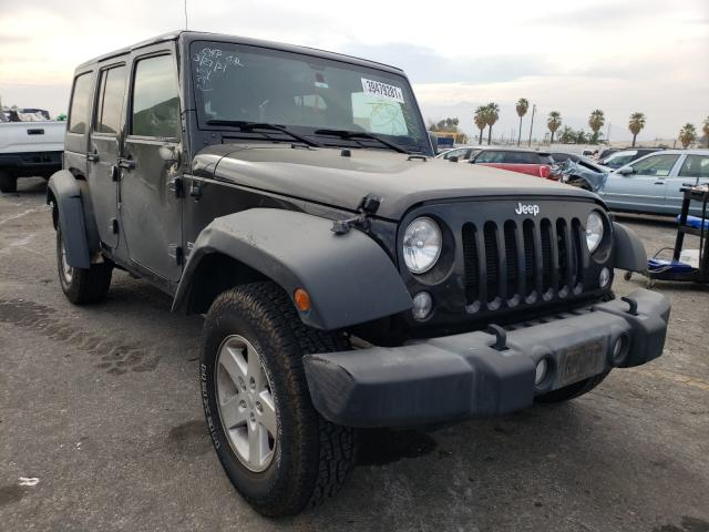 Salvage cars for sale from Copart Colton, CA: 2018 Jeep Wrangler U