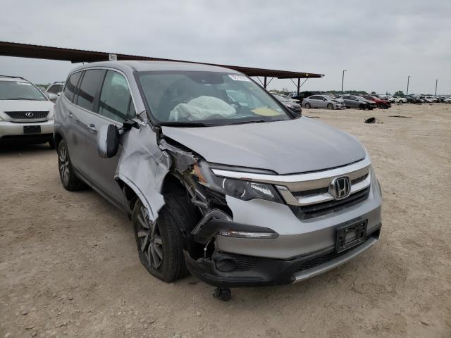 Salvage cars for sale from Copart Temple, TX: 2020 Honda Pilot EXL