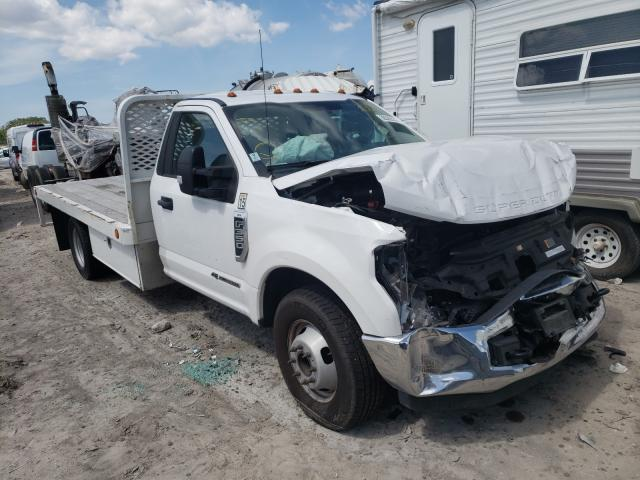 Salvage cars for sale from Copart Punta Gorda, FL: 2017 Ford F350 Super