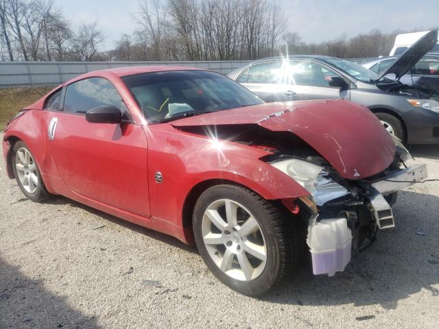 Salvage cars for sale from Copart Milwaukee, WI: 2004 Nissan 350Z Coupe