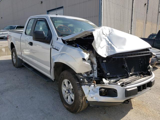 Salvage cars for sale from Copart Lawrenceburg, KY: 2018 Ford F150 Super