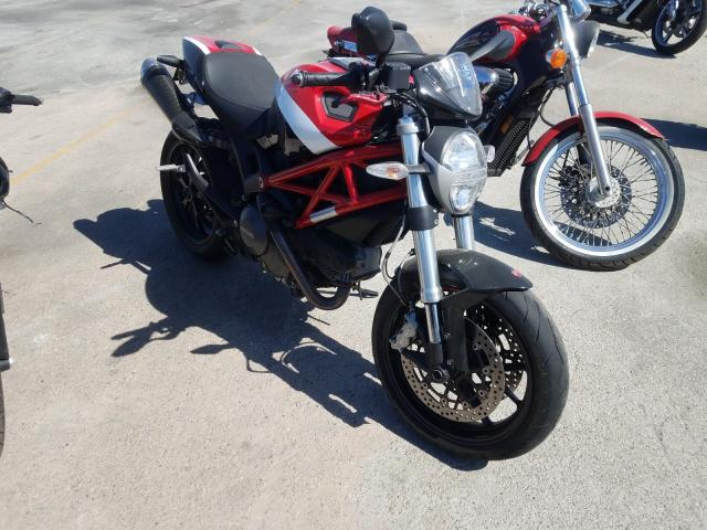 Salvage cars for sale from Copart Sun Valley, CA: 2013 Ducati Monster 79