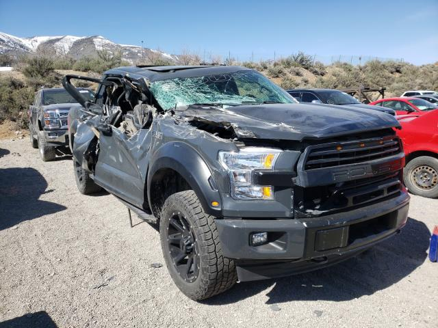 Salvage cars for sale from Copart Reno, NV: 2017 Ford F150 Super